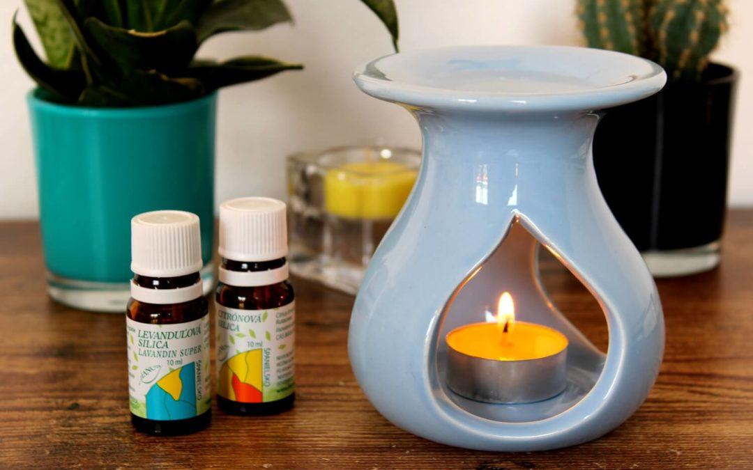 Použitie éterických olejov do aromalampy
