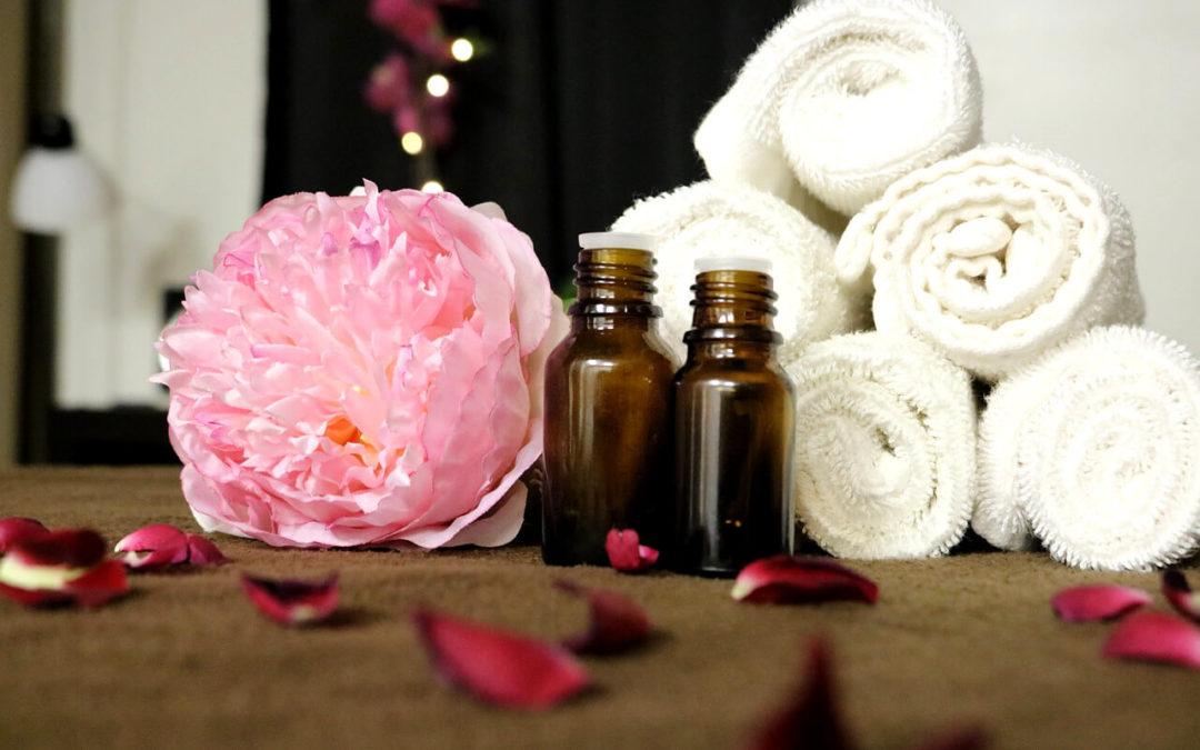Použitie esenciálnych olejov do kúpeľa