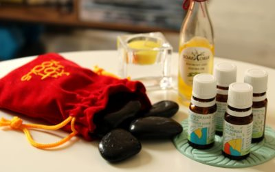 Masáže a esenciálne oleje