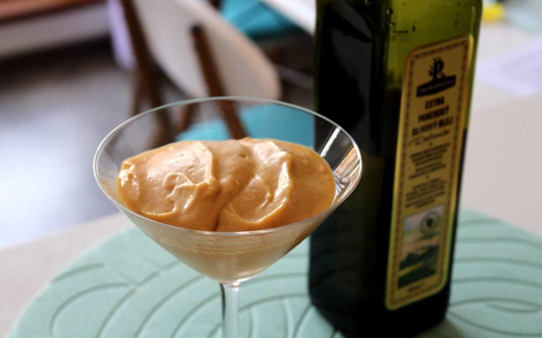 Zmrzlina z olivového oleja