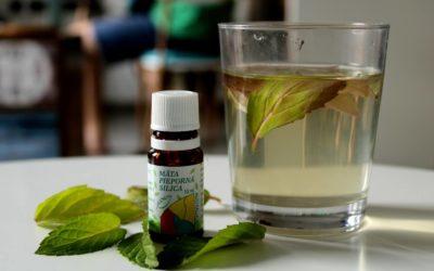 Mätový olej na bolesť hlavy – účinky a použitie