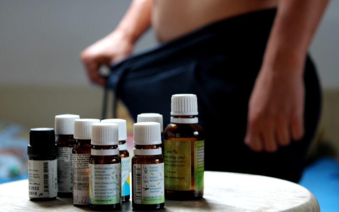 esenciálne oleje na chudnutie